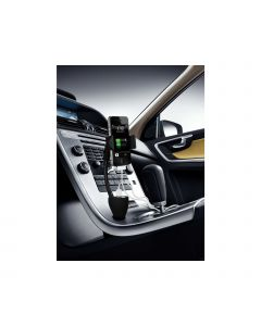 TE06 Technaxx Active Car Holder & Charger Black